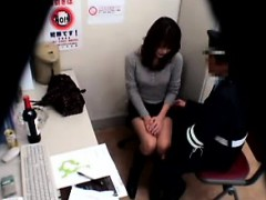 Asian police station antics where cops get to fuck their su