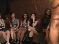 Fit black stripper and the lovely ladies that like to suck his dick