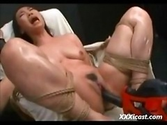 Oriental Made To Orgasm With Power Services