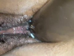 Wife with 10inch Dildo