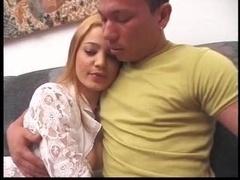 Melina & Ricardo strapon worship