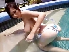 Cute Japanese Soccer mom - Sexy JULIA