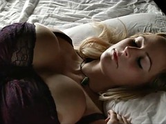 Big Natural Tits Blond Girl Masturbate
