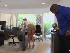 Big booty Candice Dare tries BBC Anal