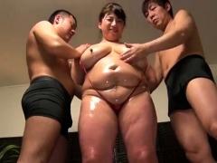 Aziatisch, Sperma, Dik, Groep, Rijpe lesbienne