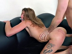 BANG Casting: Amateur Has Her First Go On The Casting Couch