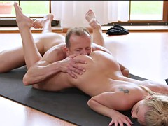 erotric bigclit babe rides cock after workout