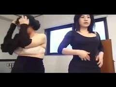 Japanese Mature Lesbos Enjoy Labia (Uncensored)