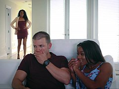 Interracial interactions with a MILF