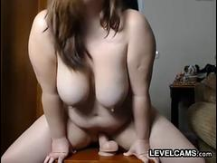 Sultry BBW Pro With A Dildo