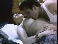 Indian wife Desi is getting her boobs kissed & gets fondled