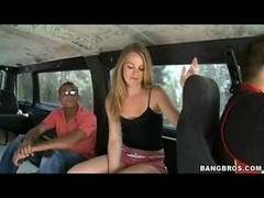 The Monsters Back On The Bus Sizeable Cum cannon Outdoor Giving head and plus Banging for Cash