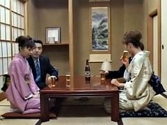 Азиатки, Семяизвержение, Группа, Секс без цензуры, Японки