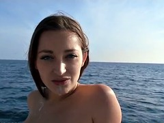 Triple Banged on a yacht in the middle of the high seas