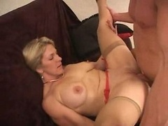 Aroused Mother Bangs