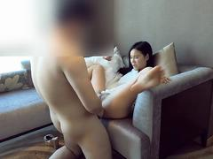 Chinese cameraman fucked model at hotel