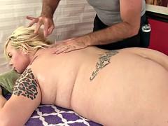 Belle grosse femme bgf, Blonde, Gode, Hard, Massage, Jouets, Vibromasseur