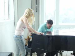 Alli Rae- Bitch Brute Fucked by Piano Guy