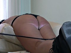 ass whipping and caning POV