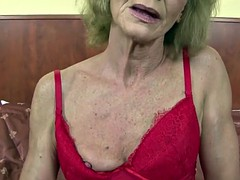 Granny hairy pussy getting ass fucked by big black cock