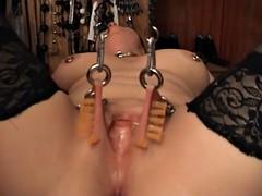 Needles in the Pussylips of SKLAVIN-Z