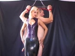 A couple of slaves and Mistress