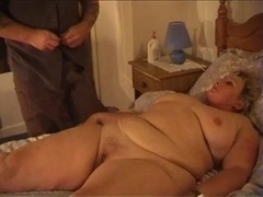immensely immense girl getting down and dirty after massage