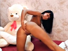 Russian Whore StepDaughter Loves ANAL Fisting