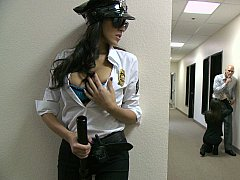 Sexy security guard