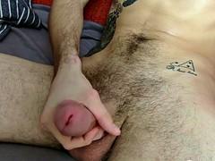 Just amazing JAXON masturbates