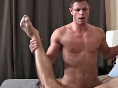 creampied bareback stud gets it rough