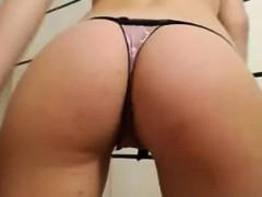 Dani No Panties Morning Masturbation