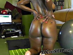 SUPER SEXY EBONY COUPLE!!