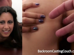 Persian Squirter Buttfuck Fail Internal Cumshot Win on Audition Sofa