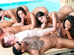 Orgy in the Pool