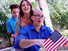 Cronys mom Awesome 4th Of July Threesome