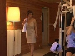 French sexually available mom fucked in sauna