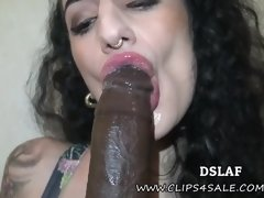 Sboez this is good tongue: POV cock sucking