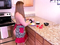 Real Amateur sister in law gets raw anal fucked in the kitchen - amateur
