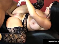 Welsh Beauty, Sophie Dee, Gets Fucked & Cream-pied By Stud!