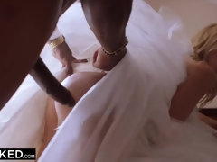 Hot Bride Riley Steele Takes BBC for the first Time!