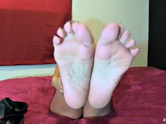 Very pity by waving fucked man milf her while horny feet black good