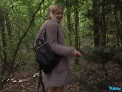 Crazy Russian Fucked in the Woods