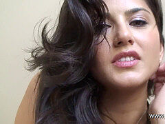 Sunny Leone POV- taunting,oral pleasure and get screwed